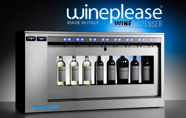dyspenser do wina Wineplease